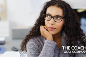 Client pondering goals question