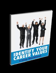 Career Values Identification Workbook Page 1