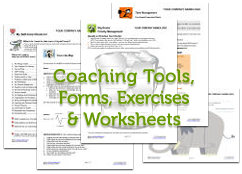 Coaching Tools Forms Worksheets