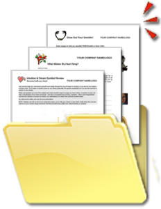 Self-Discovery Tools, Forms, Exercises, Worksheets and Templates in a Folder