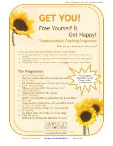 Coaching Programme Flyer Image