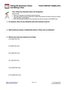 Business Coaching - Business Vision into Action_P1-500