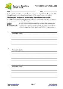 Business Coaching - Coaching Goals Sheet_P1-500