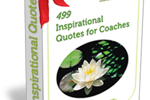 499 Inspirational Quotes for Coaches Ebook with bow