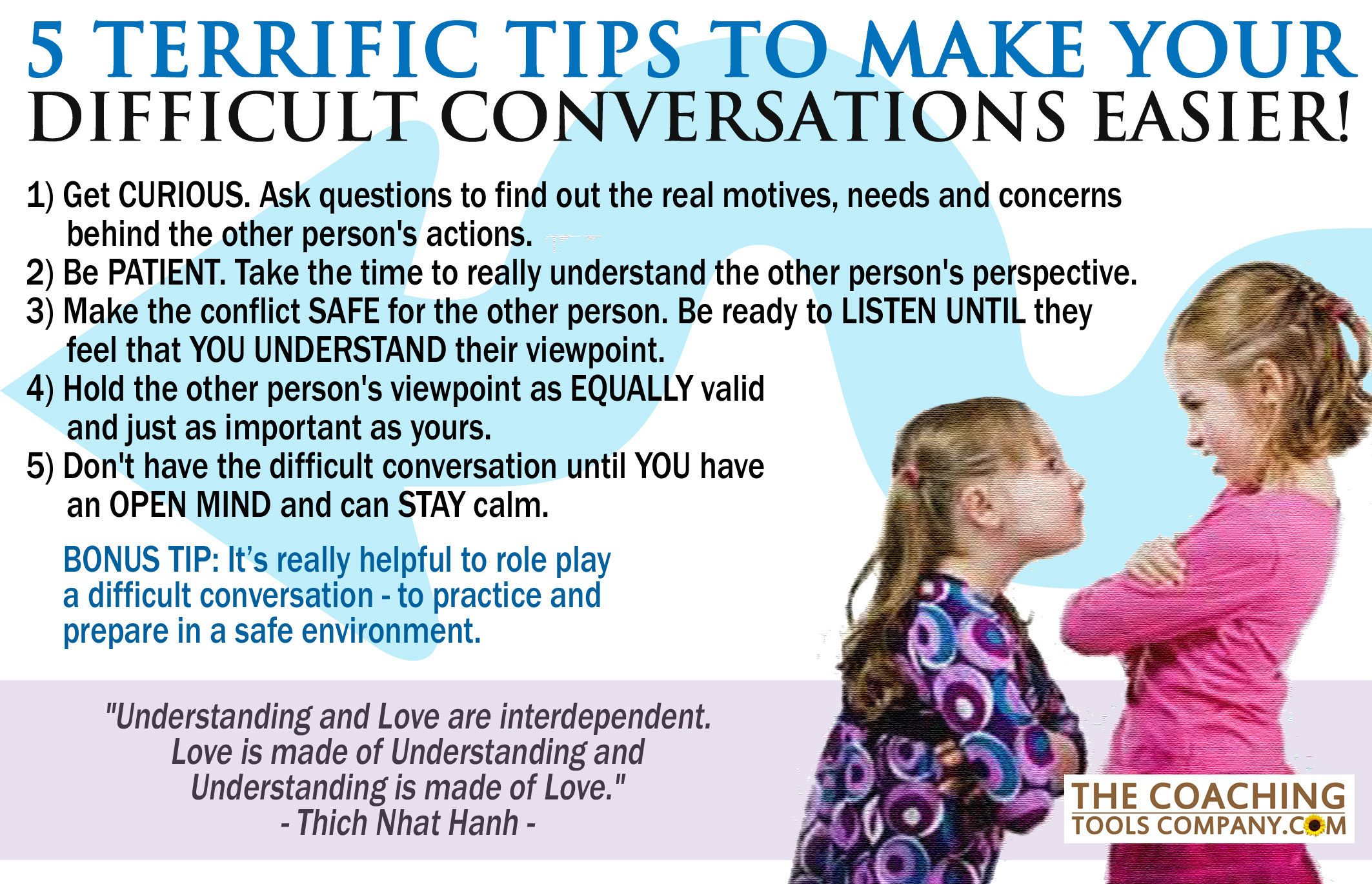 difficult conversation Think about difficult conversations differently be better able to: • prepare • get  started • stay centered consider some do's and don'ts.