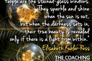 Holiday Card 2016 Elisabeth Kubler Ross Quote