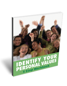 Values Identification Workbook Page
