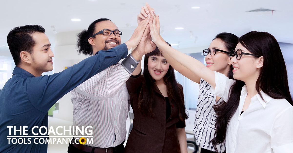 Team Celebrating Their Strengths