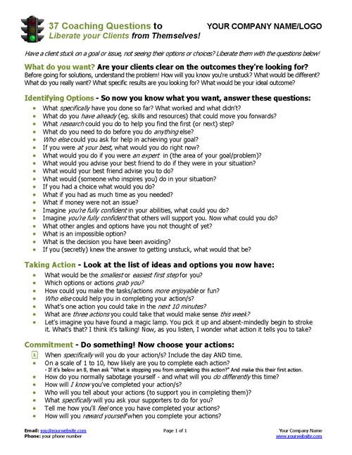 Unusual Quiz Amp Worksheet Educational Coaching Models Worksheets ...