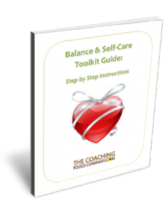 Balance and Self-Care Toolkit 3D User Guide Page