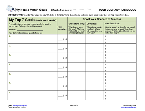 Next-3-Months-Goal-Setting-Worksheet-500 Quarterly Newsletter Free Templates on microsoft word, microsoft office, printable teacher, ms word,