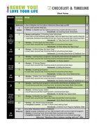 Renew You Love Your Life Coaching Program Checklist