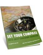 Set Your Compass Review Celebrate Prepare to Set Goals COVER