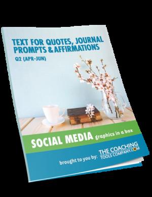 Quotes Text: Social Media GRAPHICS In a Box (Q2 Apr-Jun)