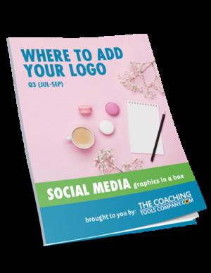 Social Media Graphics for Coaches WHERE ADD LOGO (Q3)