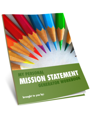 Personal Mission Statement Generator Workbook & Tool Image