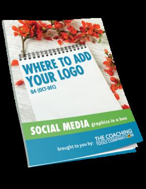 Social Media Graphics for Coaches WHERE ADD LOGO (Q4)