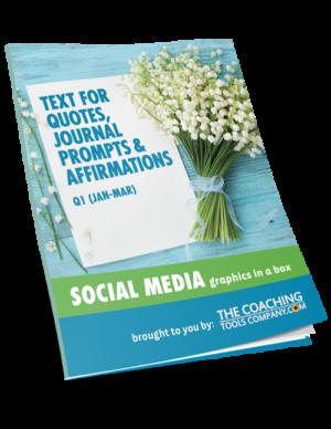 Social Media Graphics for Coaches QUOTES TEXT (Q1)