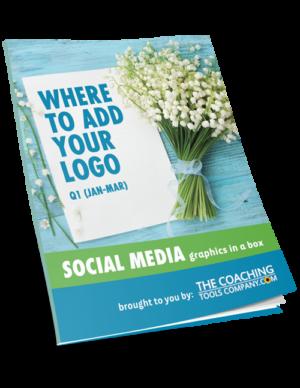 Social Media Graphics for Coaches WHERE ADD LOGO (Q1)