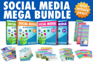 Social Media Graphics for Coaches - One Year Pack!