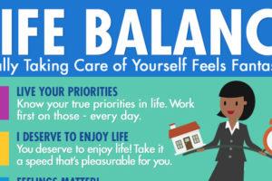 Life Balance Infographic Sample 1200x628