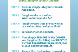 1 Minute Meditation Beautiful Graphic