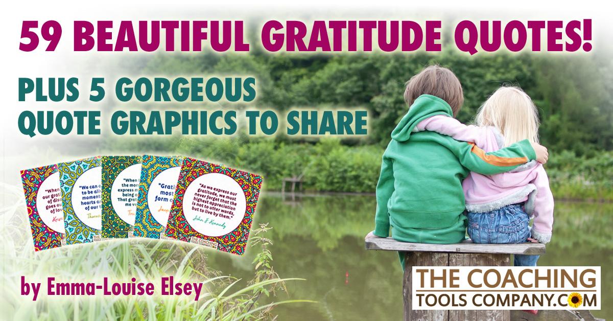 59 Beautiful Best Gratitude Quotes