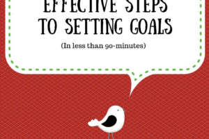 Bird tweeting 5 surprisingly effective steps to set your goals in less than 90 minutes