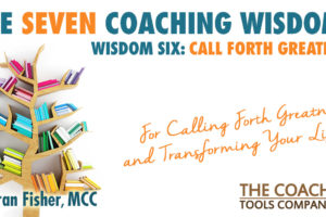 Wooden Tree as Bookshelf for Coaching Wisdoms