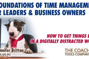 Tired Manager at Desk - Glasses askew- 4 Time Management Foundations