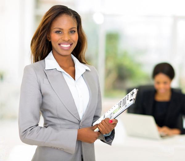 Lady Holding Coaching Tools
