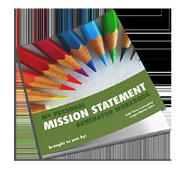 Personal Mission Statement Generator Workbook