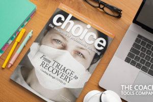 choice Magazine on Desk
