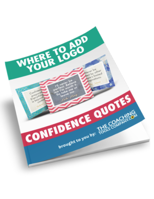 Confidence Quotes Where Add Logo Guide
