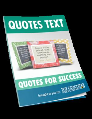 Success Quotes Text