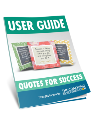 Main User Guide for Success Quotes Product