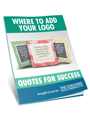 Where to Add Logo Guide for Success Quotes