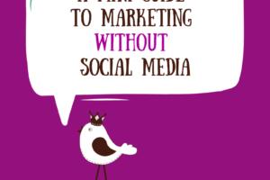 Bird Tweeting about not using Social Media