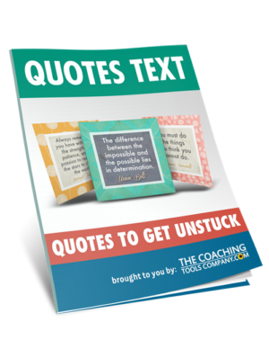 Quotes Text Guide for Get Unstuck Quotes