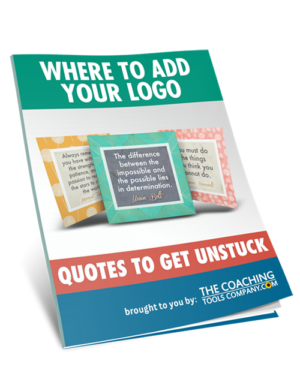 Where to Add Your Logo Guide for Get Unstuck Quotes