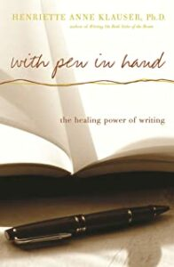 With pen in hand book cover